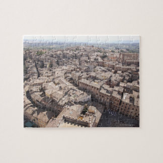 High Angle View of Townscape, Siena, Italy 2 Jigsaw Puzzle