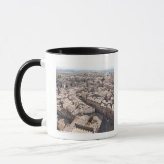 High Angle View of Townscape, Siena, Italy 2 Mug