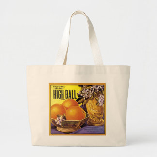 High Ball California Oranges Jumbo Tote Bag
