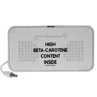 High Beta-Carotene Content Inside (Vitamin A) Speaker System