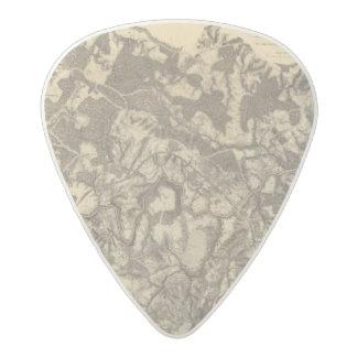 High Bridge and Virginia Acetal Guitar Pick