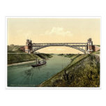 High bridge at Holtenau, Kiel, Schleswig-Holstein,