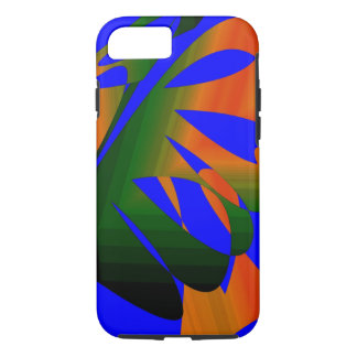 High Contrast Color iPhone 7 case Tough Style
