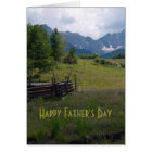 High Country Father's Day Photo Card