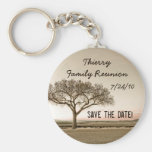 High Country Save the Date Basic Round Button Key Ring