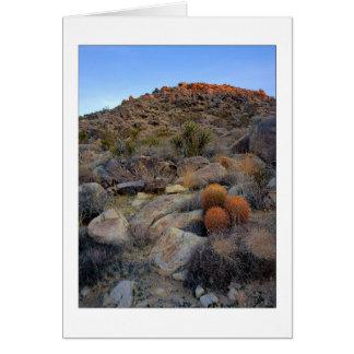 """""""High Desert Garden"""" Card"""