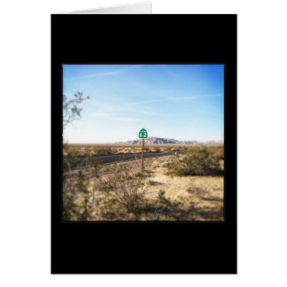 High Desert Highway Note Card