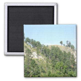 High Desert Hills Square Magnet