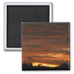 High Desert Sunset Magnet #1