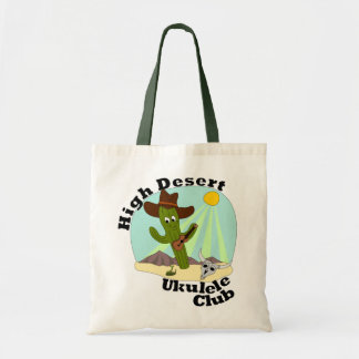 High Desert Ukulele Club Tote Budget Tote Bag