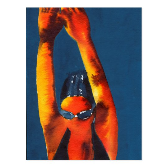 High Diver 2011 Postcard
