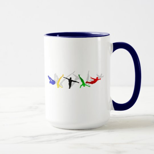 High Divers High Diving Springboard Platform sport Mug