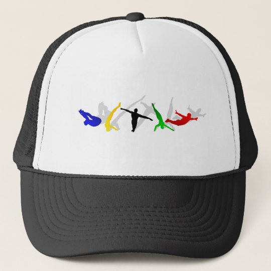 High Divers High Diving Springboard Platform sport Trucker