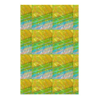 HIGH Energy Art Graphics Waves Pattern Smile Happy Personalized Stationery