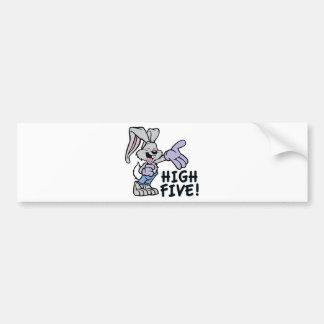 High Five Bumper Sticker