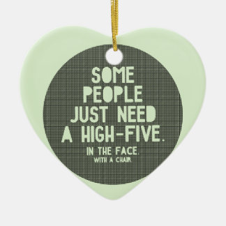 High-five Christmas Ornament