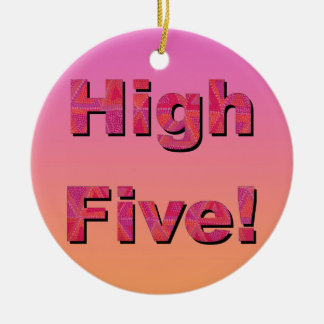 High Five! Christmas Ornament