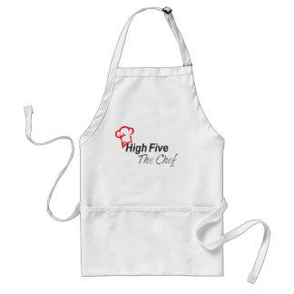 High Five the Chef apron