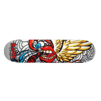 High fly´s word skate board deck