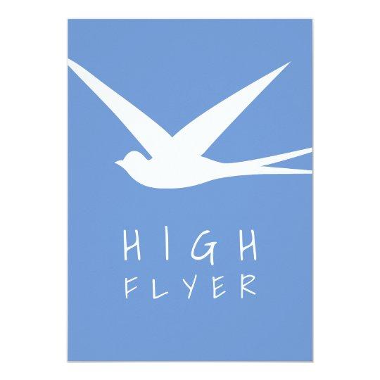 High Flyer Job Promotion Celebration Party Card