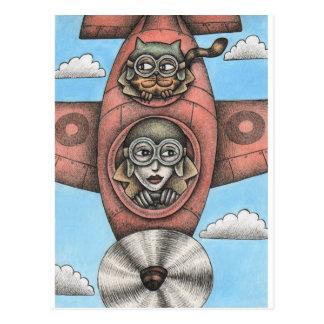 'High Flyers' Postcard