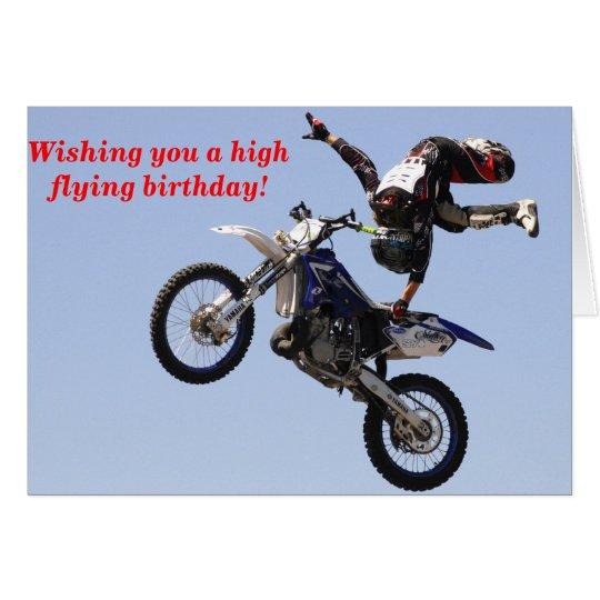 High Flying birthday Card