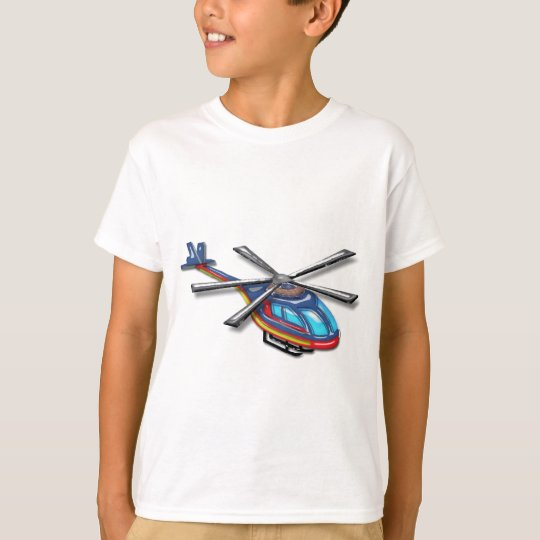 High Flying Helicopter T-Shirt