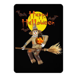 High Flying Scarecrow Card
