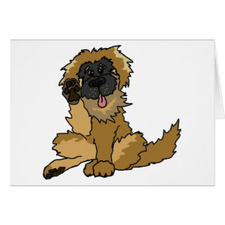 High Four! Leonberger card