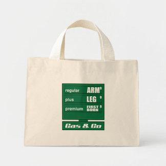 High Gas Prices Canvas Bag