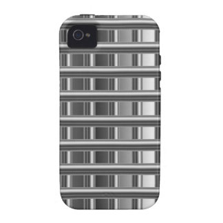 High grade silver background iPhone 4 cover