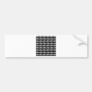 High grade stainless steel bars bumper sticker