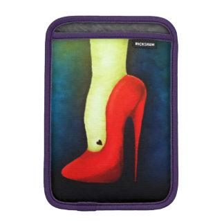 high heel iPad mini sleeve