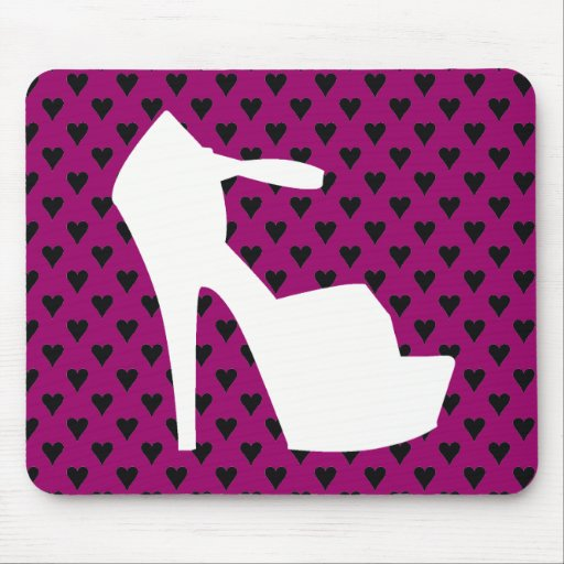 HIGH HEEL - PUMP IT UP HEIRESS HEARTS MOUSE PAD