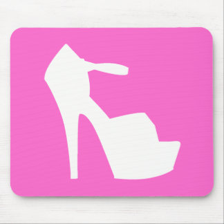HIGH HEEL - PUMP IT UP SASSY PINK MOUSE PADS