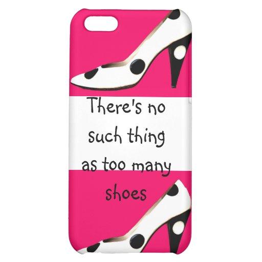 High Heel Shoe Design Case For iPhone 5C