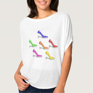 HIGH HEEL SHOES (GAY COLORS) Circle Top