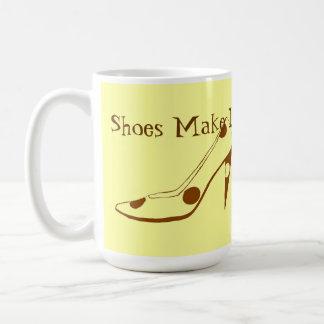 High Heel shoes Make Life Fun Basic White Mug