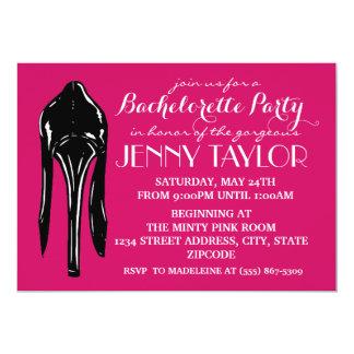 High Heel Stiletto Bachelorette Party Invitiation 13 Cm X 18 Cm Invitation Card