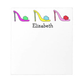 High Heel Stiletto Shoes Shoes Shoes Notepad