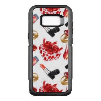 High Heels Cosmetic Diamond Ring Wrap Box OtterBox Commuter Samsung Galaxy S8+ Case