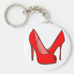 High heels key chain