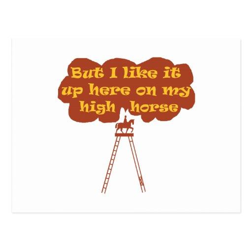 High Horse Post Card