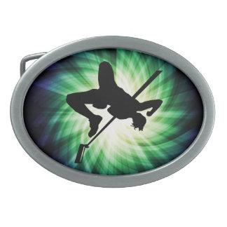 High Jump Silhouette; Cool Oval Belt Buckles