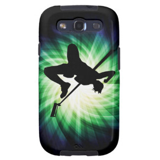 High Jump Silhouette Cool Galaxy SIII Covers