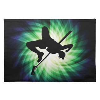High Jump Silhouette Cool Place Mats