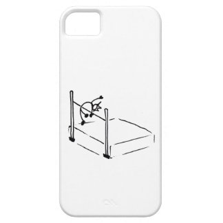 High Jump StickMan Track and Field iPhone 5 Covers