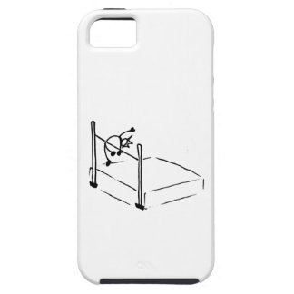 High Jump StickMan Track and Field iPhone 5 Cover