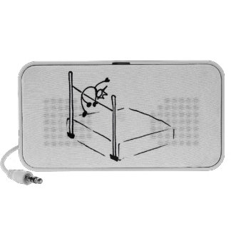 High Jump StickMan Track and Field iPod Speakers