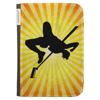 High Jump; yellow Kindle Cases